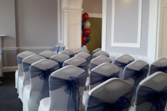 Wedding Chairs at  Bristol University and Literary Club